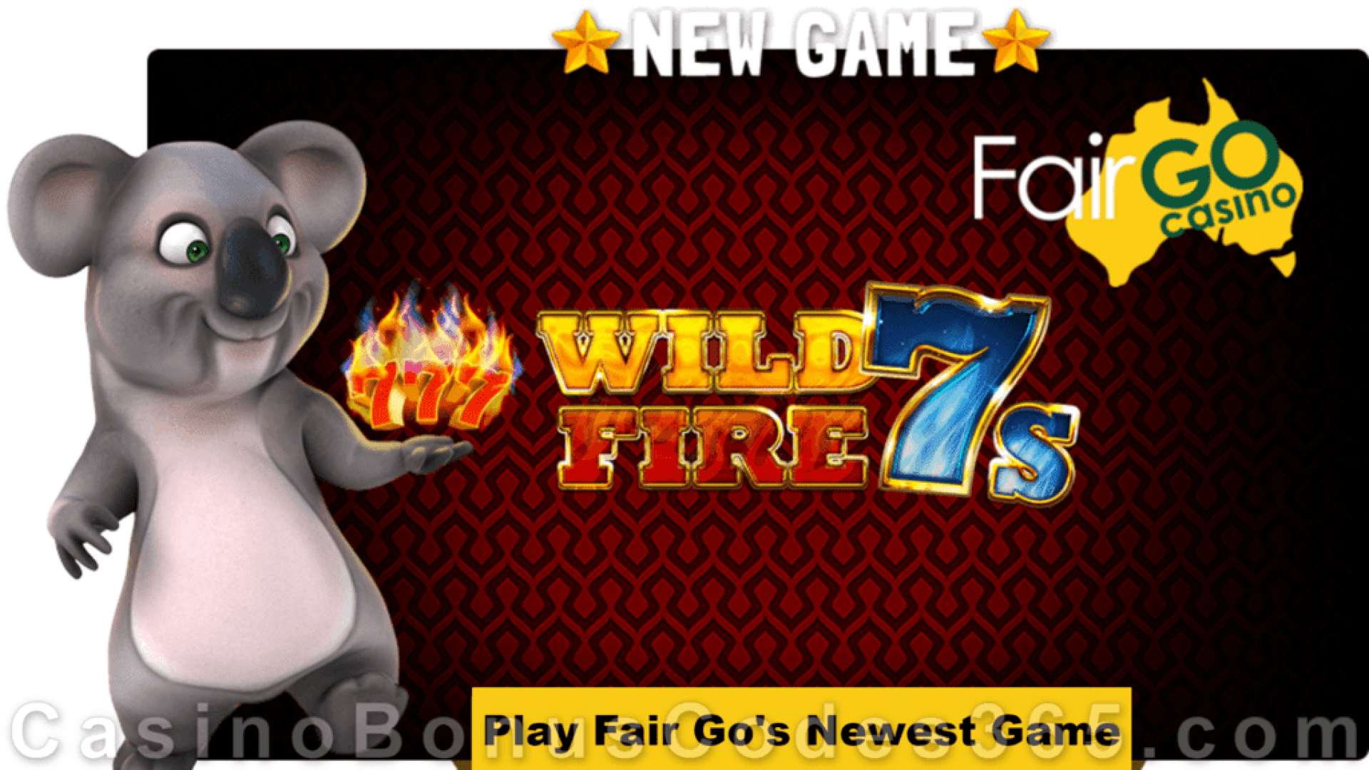 Fair Go Casino New RTG Game Wild Fire 7s is LIVE