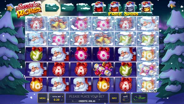 Santas Riches Slot (Novomatic) Free Play Demo & Review |  CasinoGamesOnNet.com