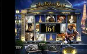 A Night in Paris Gameplay Slot Review