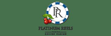 Platinum Reels Casino Logo - Casino Genie