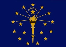 Indiana State Flag - Casino Genie