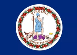 Virginia State Flag - Casino Genie