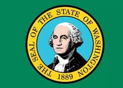 Washington State Flag - Casino Genie
