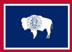 Wyoming State Flag - Casino Genie