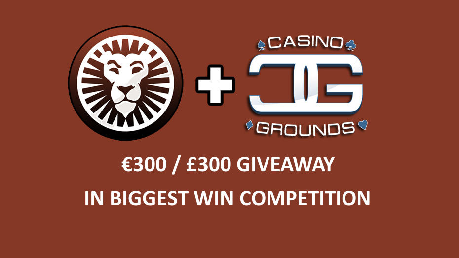 CasinoGrounds & LeoVegas presents: Big Win Competition!