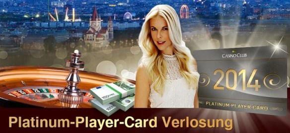 Casino Club Platinum Player Card Verlosung
