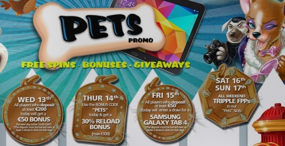 Pets Promo im CasinoLuck