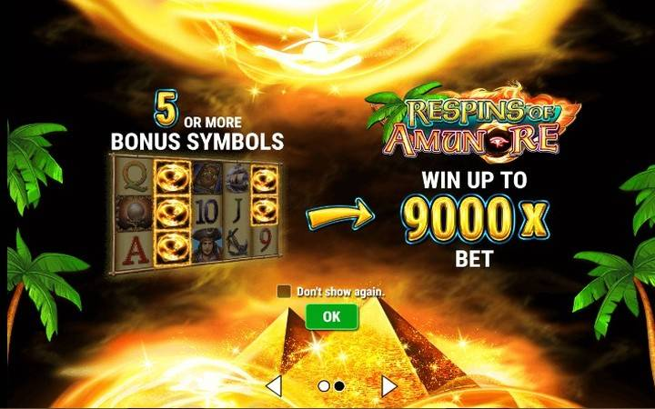 Book and Pearls Respins of Amun Re, Gamomat, Meridian Online Casino, Pirates, Amun Re