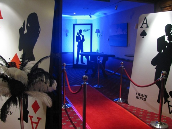 James Bond Theme  Casino Party Hire