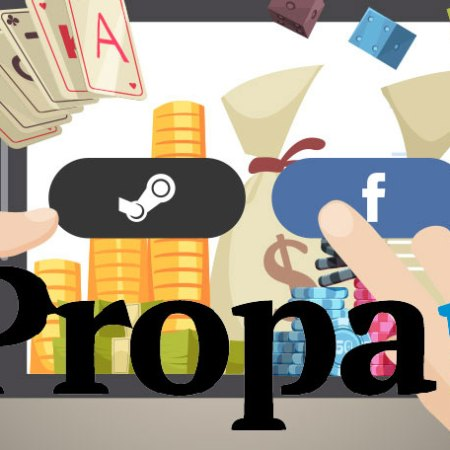 Register at PropaWin Casino using your social network account