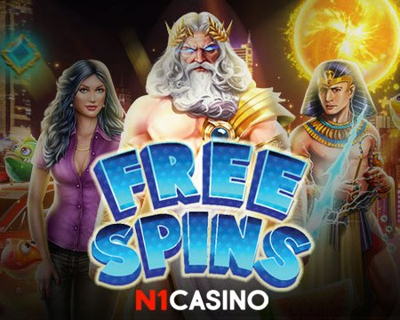 DON'T MISS OUT! IT'S A FREE SPINS TIME!