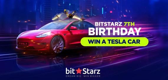 BitStarz Tesla Promotion
