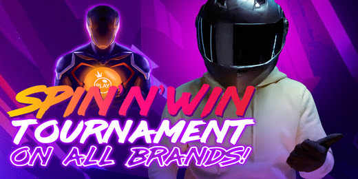 Spin'N'Win Tournament on All Brands!