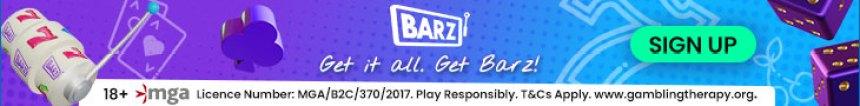 Barz Casino Banner