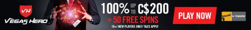 VegasHero Casino Banner