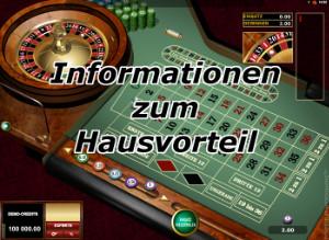 Der Hausvorteil zerstört am Ende jeden Casino Trick