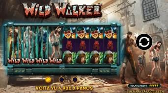 Wild Walker Slotin Alkuruutu