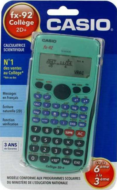 Calculatrice Casio Fx-92 : calculatrice, casio, fx-92, Casio, Fx-92, College, Scientific, Calculator, Casio.ledudu.com, Pocket, Computer,, Calculator,, Watch, Library., RETRO, CALCULATOR