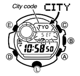 How to set time on Casio G-Shock GW-9400