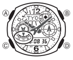 How to set time on Casio G-Shock GW-3500