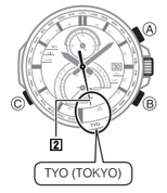 How to set time on Casio Edifice EQS-A500