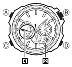 How to set time on Casio Edifice EQW-M600
