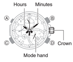 How to set time on Casio Edifice EQB-500