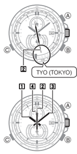 How to set time on Casio Edifice EQW-A1200