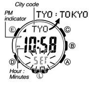 How to set time on Casio ProTrek PRW-3000