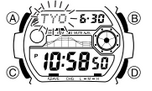 How to set time on Casio G-Shock GW-7900