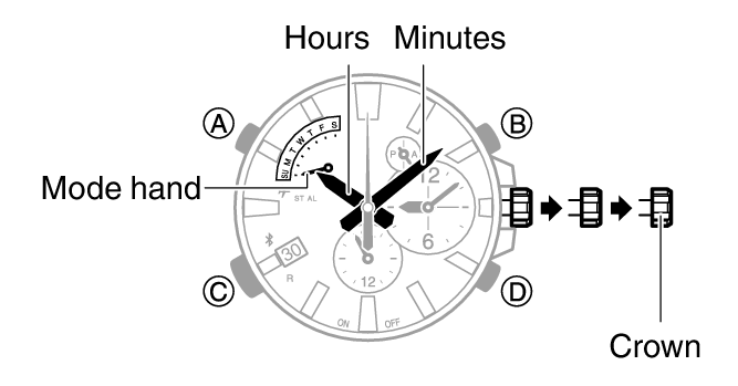 How to set time on Casio Edifice EQB-510