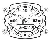 How to set time on Casio G-Shock G-100 / 5158