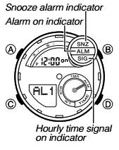 How to set alarm on Casio G-Shock GST-200 / 5475