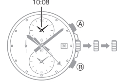How to set time on Casio Edifice EFR-302 / 5473