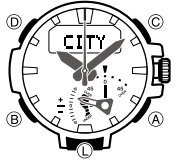 How to set time on Casio ProTrek PRW-7000 / 5480