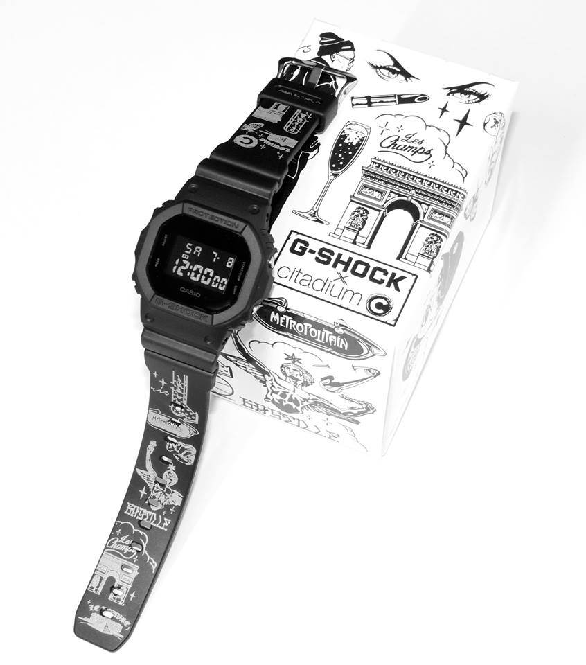 G-Shock DW-5600 x citadium Paris Limited Edition