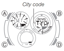 How to set time on Casio G-Shock GAW-100 / 5444