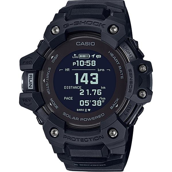 Đồng Hồ Casio G Shock GBD-H1000-1DF - Nam - Kết Nối Điện Thoại - Cảm Biến Đo Nhịp Tim