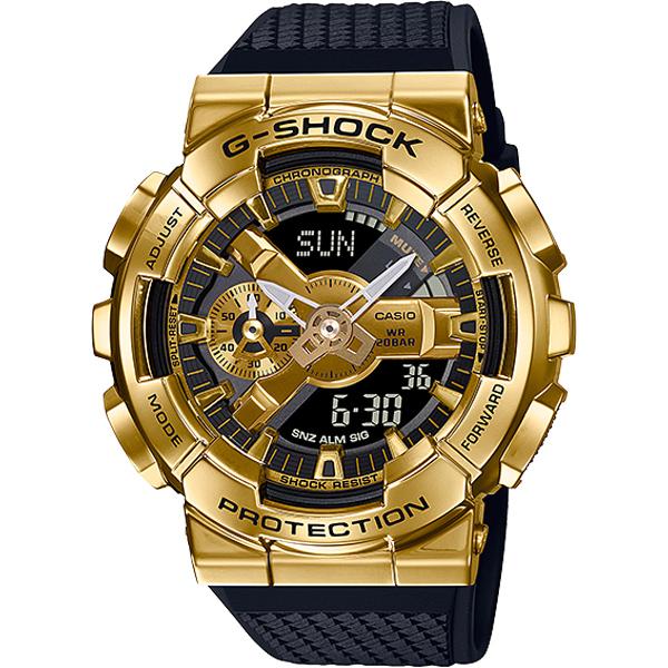 Đồng Hồ Casio G Shock GM-110G-1A9 | Nam | Vỏ Kim Loại Mạ Vàng | Chống Nước 200M