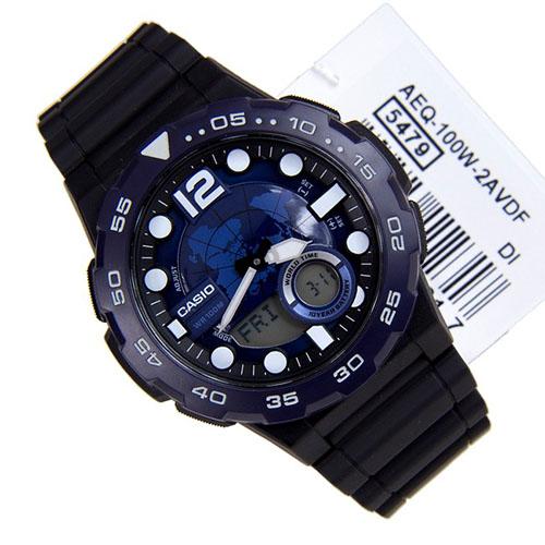 Đồng hồ Casio AEQ-100W-2AVDF dành cho Nam