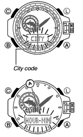 How to set time on Casio G-Shock GWN-1000
