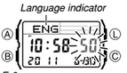 How to set time on Casio DBC-611