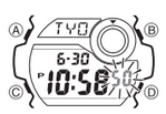 How to set time on Casio G-Shock G-8900