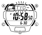 How to set time on Casio STL-S100