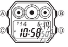 How to set time on Casio AE-1300