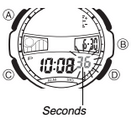 How to set time on Casio AQF-100