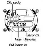 How to set time on Casio SGW-400