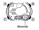 How to set time on Casio AQ-164