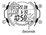 How to set time on Casio G-Shock G-7700