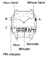 How to set time on Casio AQ-230